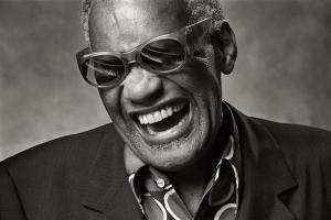 Retrato Ray Charles por Norman Seeff